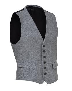 Rag & Bone  - Heather Cotton Waistcoat