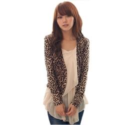 Urparcel - Leopard Print Blazer