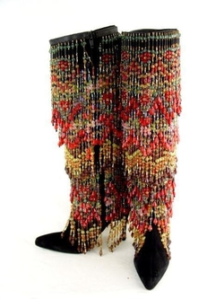 Todd Oldham - Heavily Beaded Boots