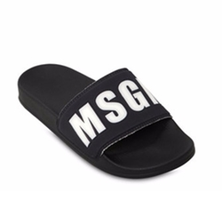 MSGM - Logo Detail Neoprene Slide Sandals