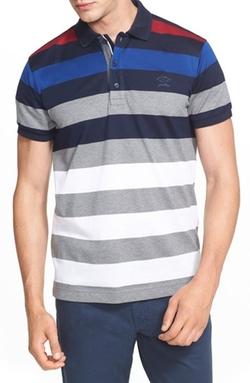 Paul & Shark - Stripe Polo Shirt