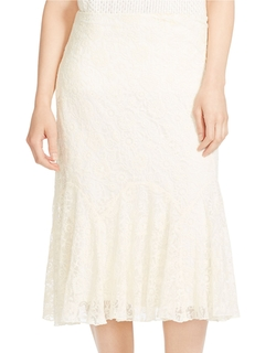 Lauren Ralph Lauren  - Embroidered Tulle Skirt