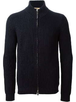 Nuur - Ribbed Zip Cardigan