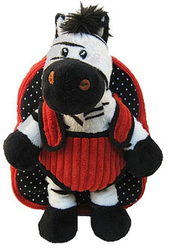 Kreative Kids - Plush Zebra Backpack