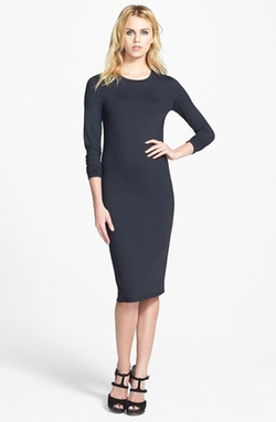 Leith - Long Sleeve Midi Dress