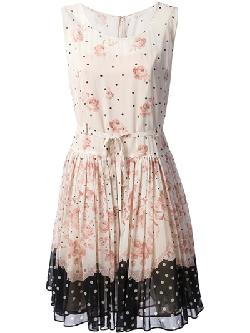 Red Valentino - Floral Print Dress
