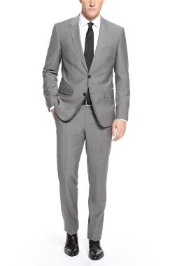 Boss - Italian Virgin Wool Suit