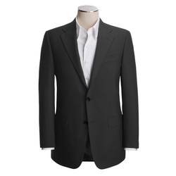 Hickey Freeman - Worsted Wool Solid Blazer