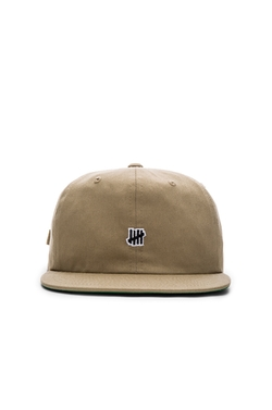 Undefeated - Mini Strike Strapback Cap