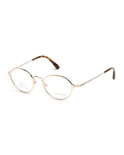 Tom Ford - Round Metal Eyeglasses