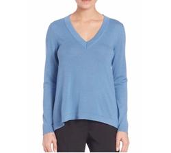 Peserico  - Long-Sleeve V-Neck Sweater