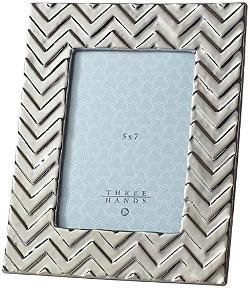 Home Decorators Collection - Chevron Ceramic Picture Frame