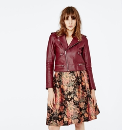 Maje - Lambskin Leather Jacket