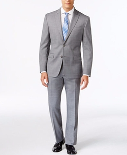 Kenneth Cole New York - Slim-Fit Performance Wear Travel Suit