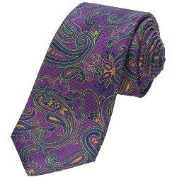 Ike Behar - Paisley Silk Tie