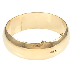 Sterling Essentials - Polished Bangle Bracelet
