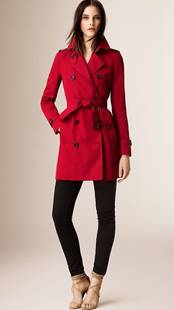 Burberry - The Kensington - Mid-Length Heritage Trench Coat