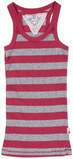 T2Love  - Stretch Striped Tank Top