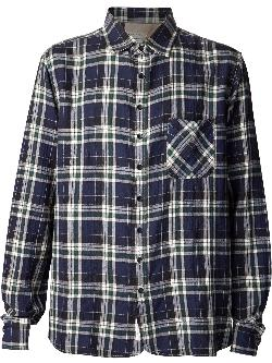 RAG & BONE - plaid button down shirt
