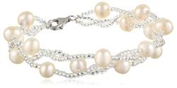 Bella Pearl  - Pearl Beaded Bracelet