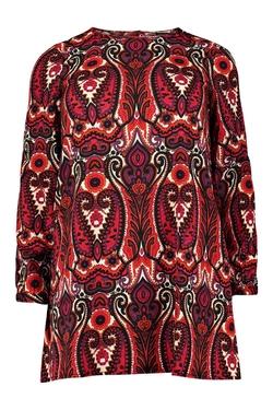 Boohoo - Niamh Paisley Printed Dress