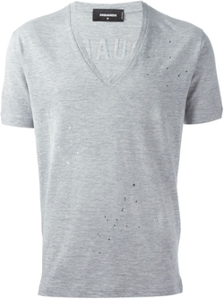 Dsquared2   - V-Neck T-Shirt