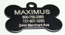 Providence Engraving - Bone Shape Pet Tags