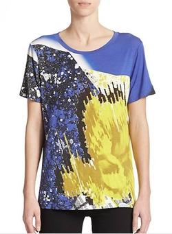 Prabal Gurung  - Abstract-Print T-Shirt