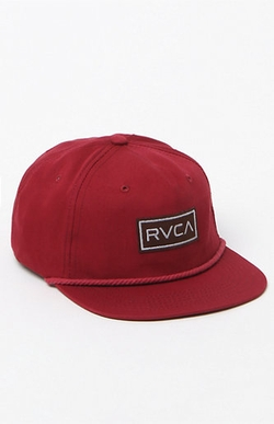 RVCA - Unstructured Snapback Hat