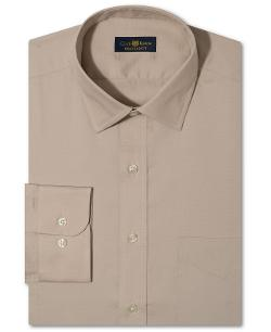 Club Room  - Estate Wrinkle Resistant Pinpoint Solid Dress Shirt