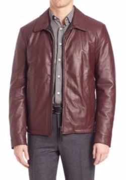 Canali  - Reversible Leather Jacket