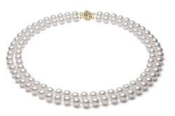 Premium Pearl - White Akoya Cultured Pearl Necklace