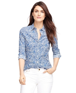 Brooks Brothers - Tailored Fit Liberty Of Arts Printed Shirt