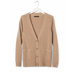 Banana Republic - Italian Wool Cashmere Pocket Cardigan