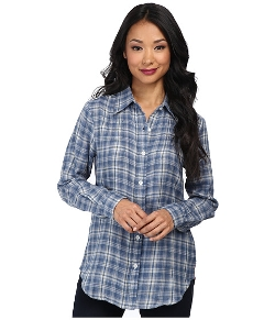 Tolani  - Ava Long Sleeve Plaid Shirt