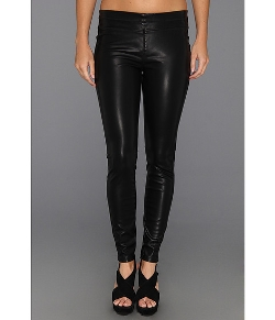 Blank NYC - Black Vegan Leather Legging In Pussy Cat