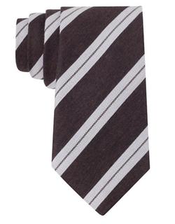 John Varvatos U.S.A. - Silk-Blend Stripe Tie