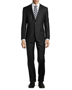 English Laundry - Solid Two-Piece Wool Suit