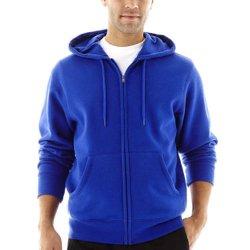 Xersion - Full-Zip Fleece Hoodie Jacket