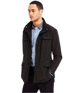 Kenneth Cole Reaction  - Four-Pocket Anorak Jacket