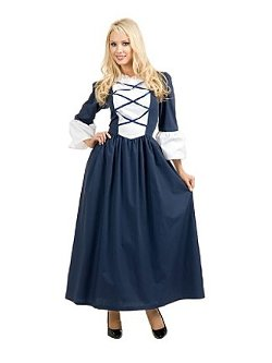 Costume Super Center - Womens Colonial / Pilgrim Lady Costume