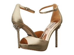 Badgley Mischka  - Meredith II Peep-Toe Sandals