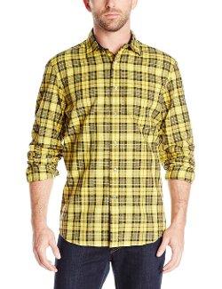 Nautica  - Herringbone Plaid Shirt