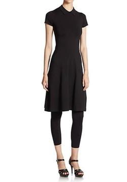 Polo Ralph Lauren  - Stretch Jersey Collared Dress