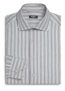 Saks Fifth Avenue Collection - Bengal Striped Dress Shirt
