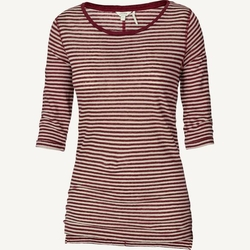 Fatface - Linen Breton Stripe T-Shirt