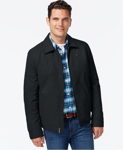 Tommy Hilfiger  - Full-Zip Micro-Twill Jacket