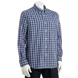 Dockers - Classic-Fit Plaid Easy-Care Casual Button-Down Shirt