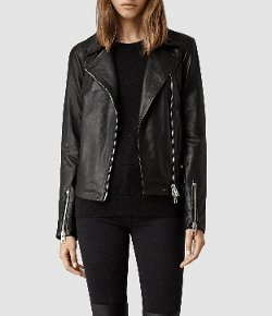 All Saints - Leather Biker Jacket