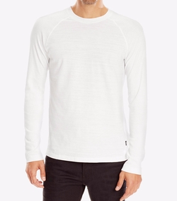 Hugo Boss - Ribbed Long Sleeve T-Shirt